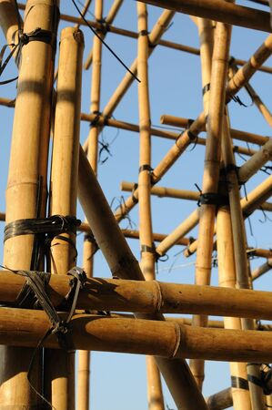 scaffolds: Construction of Bamboo Scaffolds