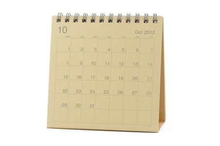 Kalender oktober 2012 August 2021