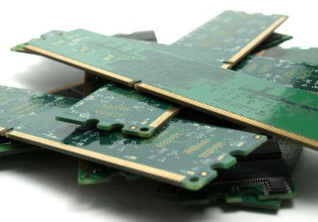 megabytes: Many memory Stock Photo