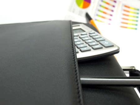 computations: Workplace businessman          Stock Photo