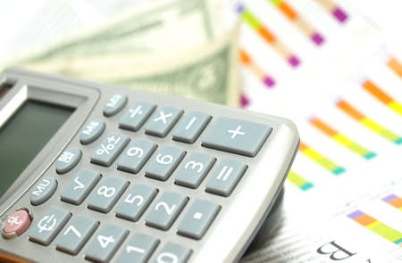computations: Calculator     Stock Photo