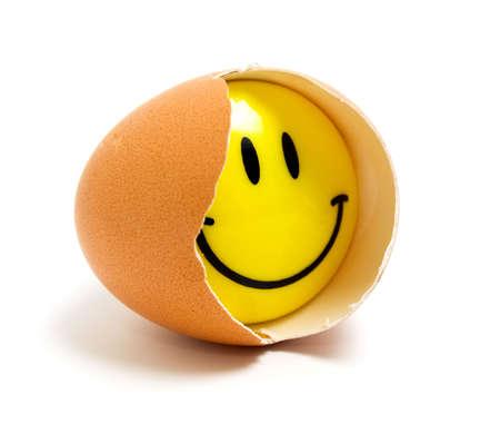 cracked: Egg smile