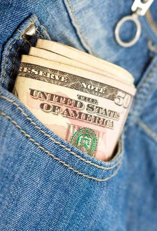 bankroll: Money in the pocket