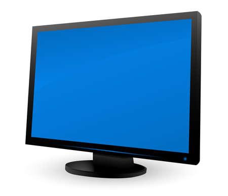 LCD monitor Stock Vector - 5732698