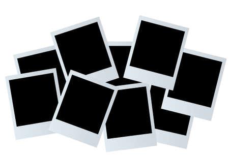 grunge photo frame: Immagine vettoriale della foto della carta