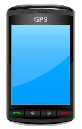 GPS Device Stock Vector - 6033091