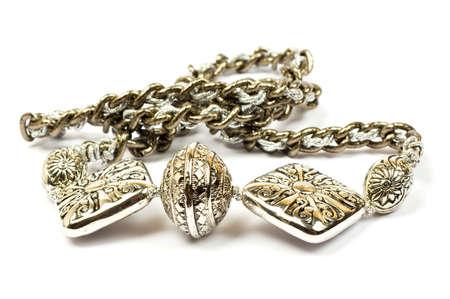 silver earrings photo