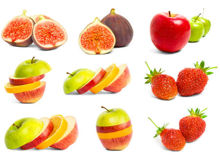 A set of mix fruit