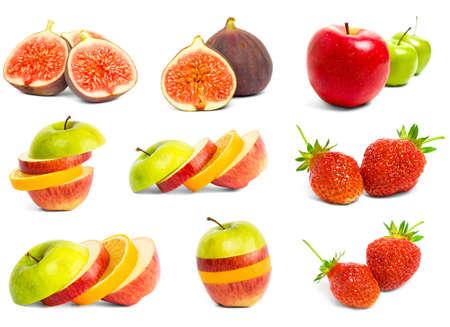 A set of mix fruit  Stock Photo - 7141498