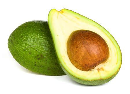 Ripe avocado Stock Photo