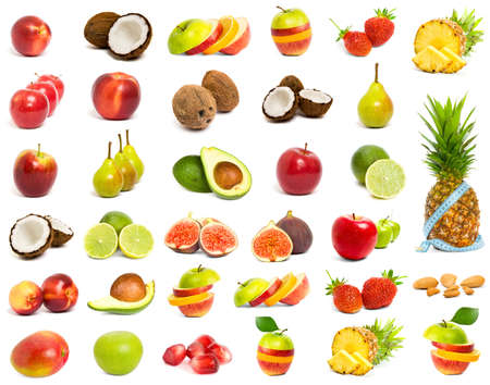 A set of mix fruit  photo