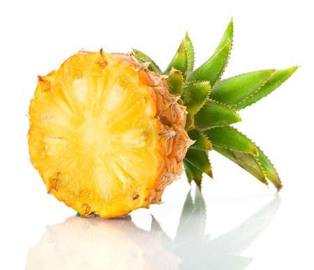 Čerstvý plátek ananasu