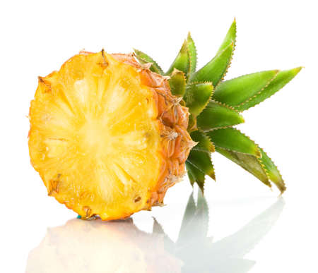 pineapple slice: Fresh slice pineapple