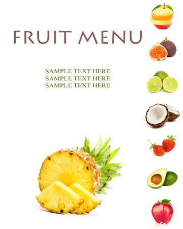 fruit menu photo