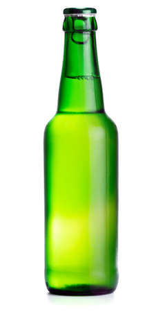 Beer bottle isolated on white Stock Photo - 11237081