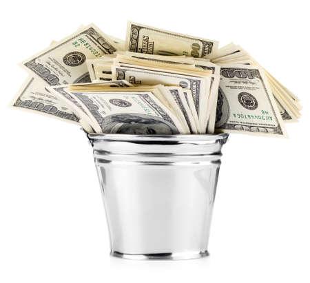 cash money: D�lar en balde
