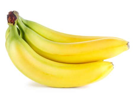 Ripe banana isolated on white background