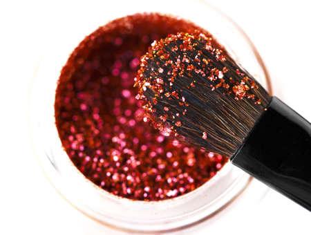 Makeup brushes powder  photo