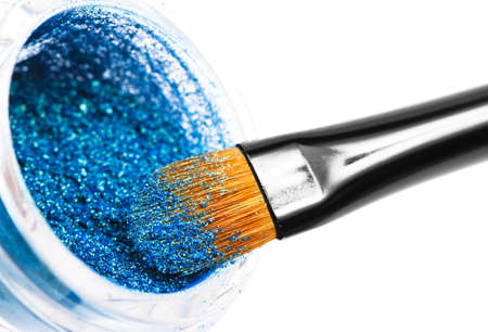 Makeup brushes powder  photo
