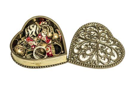 decoratiion: Vintage jewelery box
