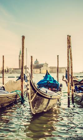 piazza san marco: Gondolas at the Piazza San Marco, Venice