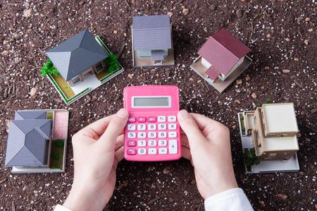 Housing image Banque d'images