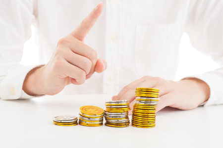 お金とビジネスのイメージ 写真素材