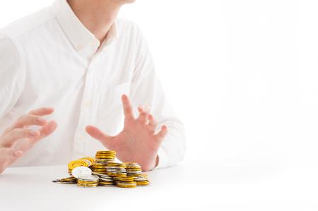 depreciation: Money and business image