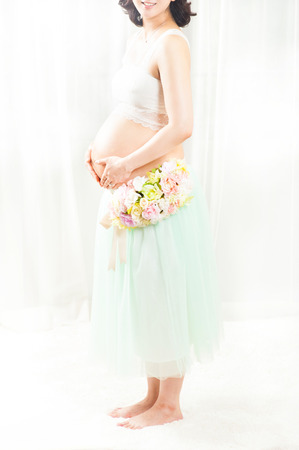 Pregnant Woman .Maternity concept.