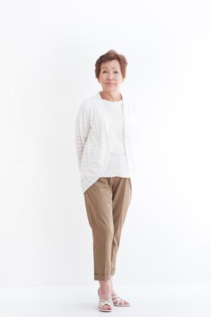 systemic: Senior Asian women,standing pose