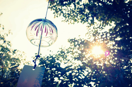 healing with sound: wind bell