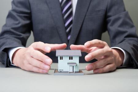 suggest: Housing image Stock Photo