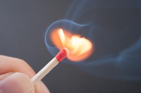 arson: Match Stock Photo