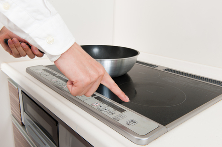 cooker: induction cooker