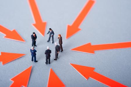 화살표, 회의 사업, 소형