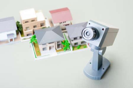 theft prevention: Security camera