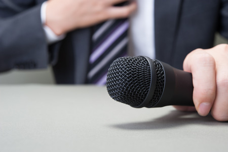 disciplinary action: Officer have microphone