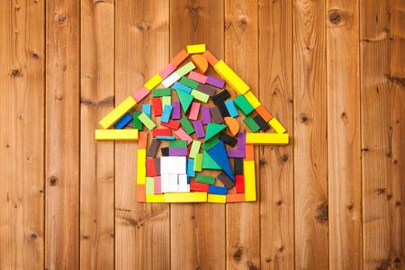 積み木ハウス