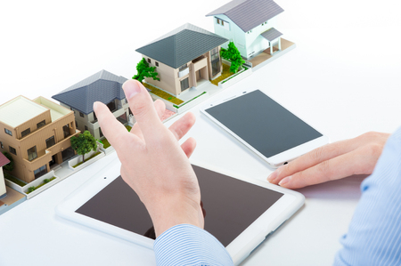 housing search: Housing, tablet smartphone