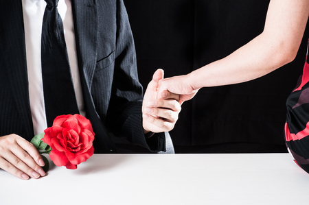 love target: Suspicious men and women