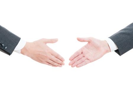 Handshake between businessman 스톡 콘텐츠