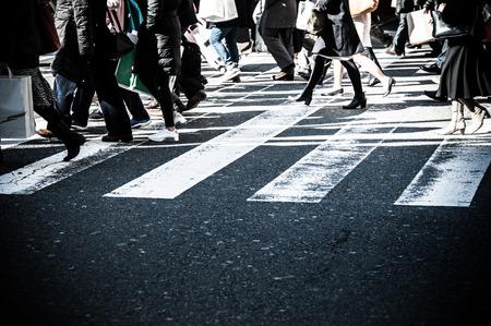 paso de cebra: La gente, paso de peatones