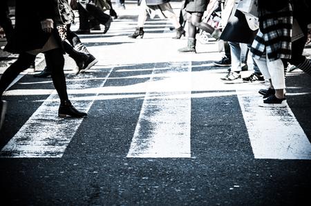 paso peatonal: La gente, paso de peatones