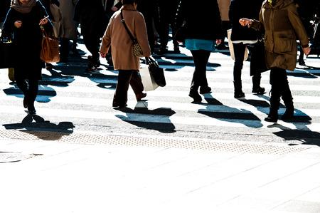 crosswalk: La gente, paso de peatones