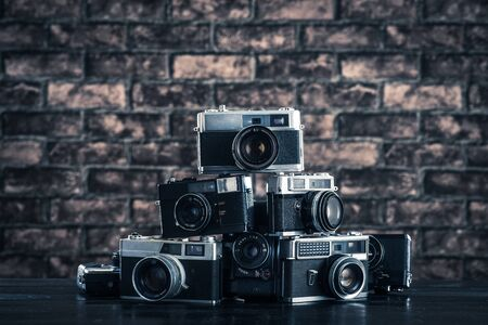 camera lens: Old camera