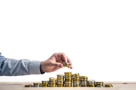 amounts: Large amounts of money Stock Photo