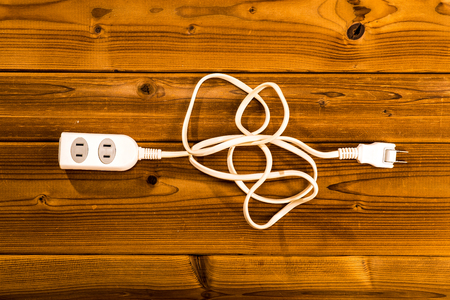 outlet: Outlet cable Stock Photo