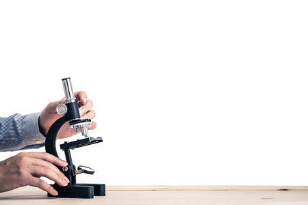 Mikroskop Standard-Bild