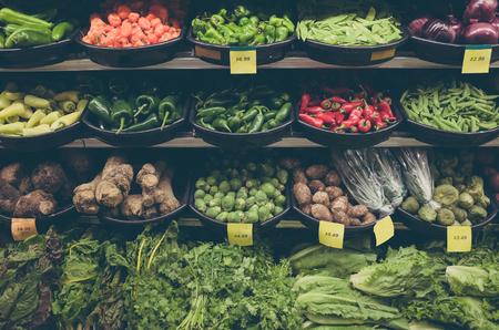tiendas de comida: Supermercado, vegetal