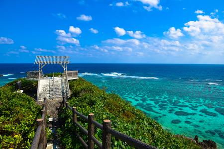日本沖縄県宮古島 写真素材